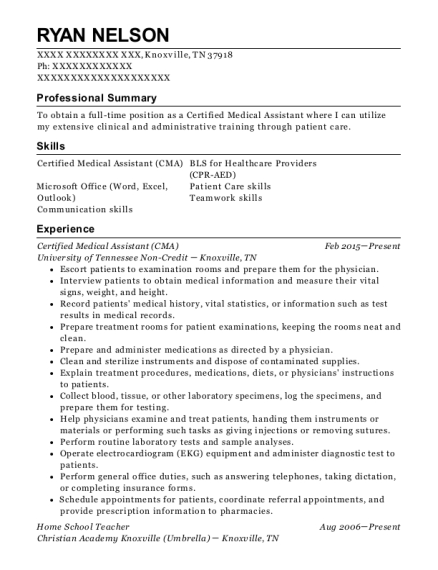 best medical assistant resumes