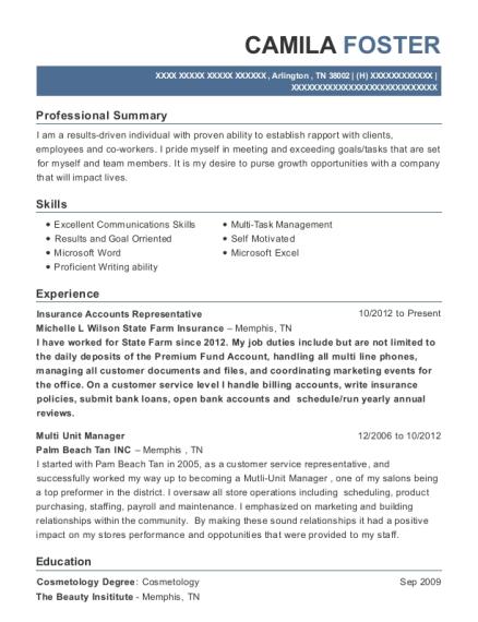 Best Multi Unit Manager Resumes   ResumeHelp