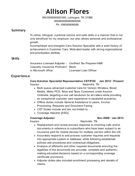 lakeland surgical and diagnostic center cst resume sample