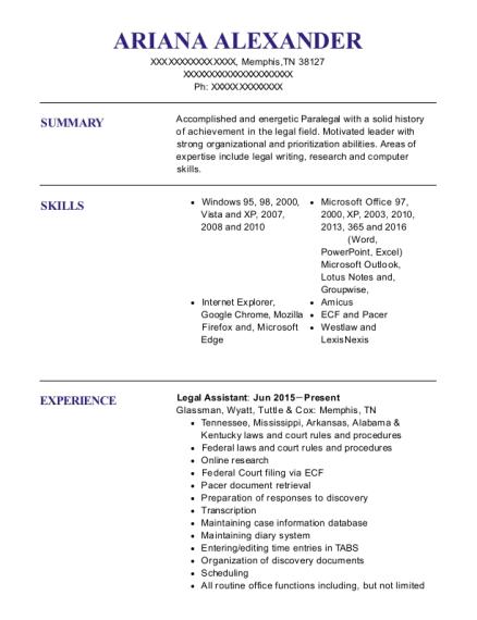 Resume Templates For Cna