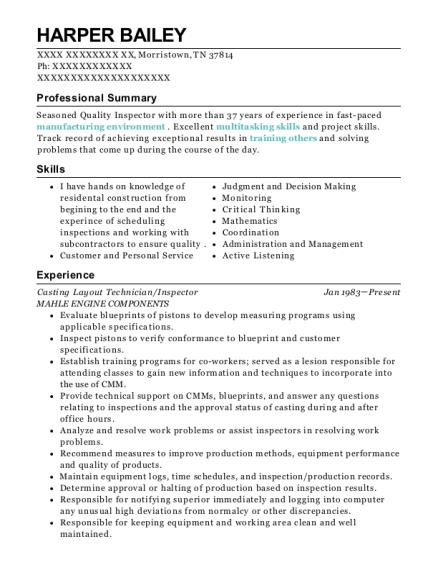 Refractory Engineer Resume
