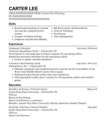 Volunteer , Volunteer Cheerleading Coach. Customize Resume · View Resume