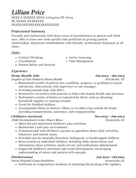 csl plasma phlebotomist resume sample