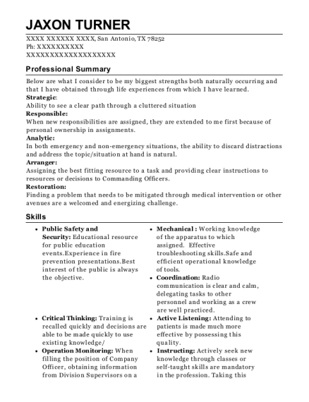 Best Paid On Call Firefighter Resumes | ResumeHelp
