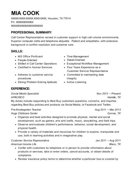 best social media specialist resumes resumehelp