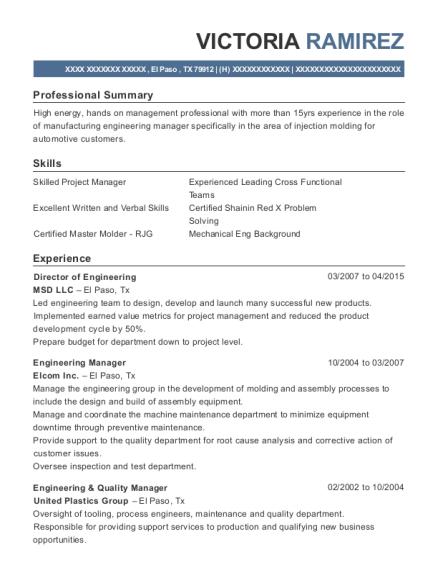 Best Engineering Manager Resumes | ResumeHelp