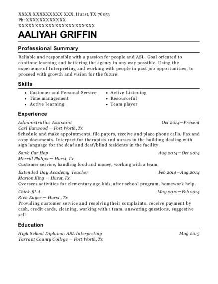 best chick fil a resumes resumehelp