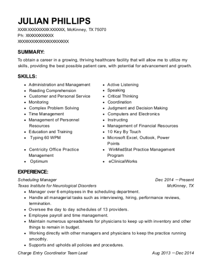 best referral coordinator resumes
