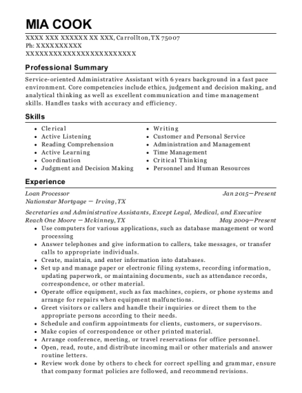 navy personnel specialist resume