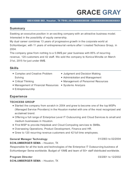 Best Country Manager Resumes | ResumeHelp