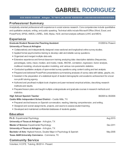 best high school spanish teacher resumes resumehelp
