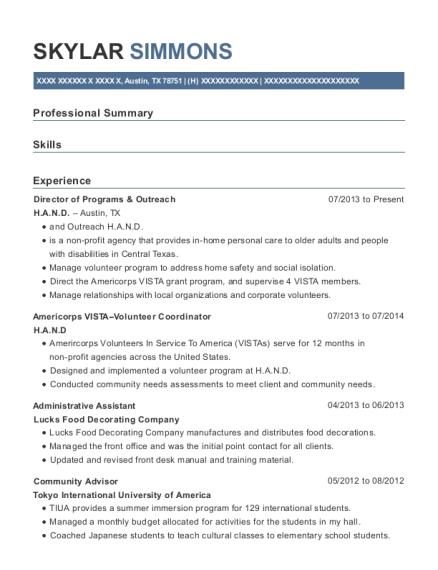best service learning coordinator resumes resumehelp
