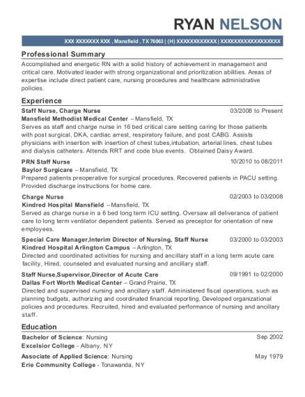 best interim director of nursing resumes resumehelp