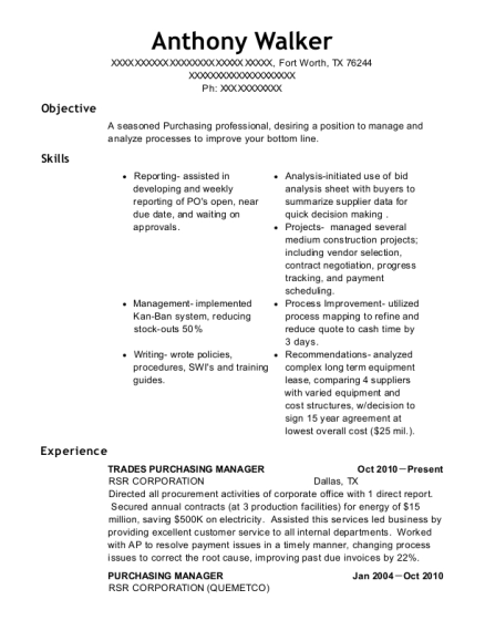 Best Cost Accounting Manager Resumes | ResumeHelp