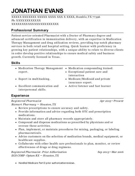 Best Iv Certified Pharmacy Technician Resumes | ResumeHelp