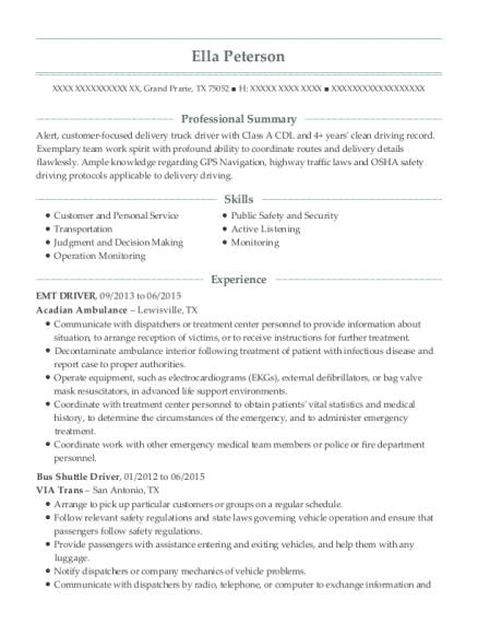 Route Sales Rep , Ramp Supervisor. Customize Resume · View Resume