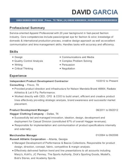 Best Global Sourcing Manager Resumes | ResumeHelp
