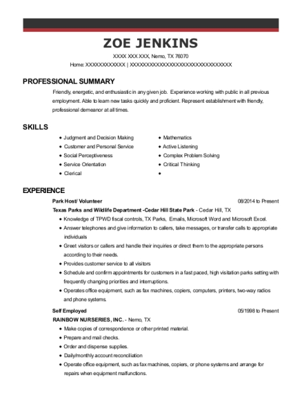 Great Collection Manager , Box Office Clerk. Customize Resume · View Resume