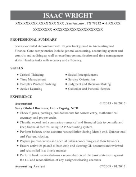 Best Accounting Staff Resumes | ResumeHelp