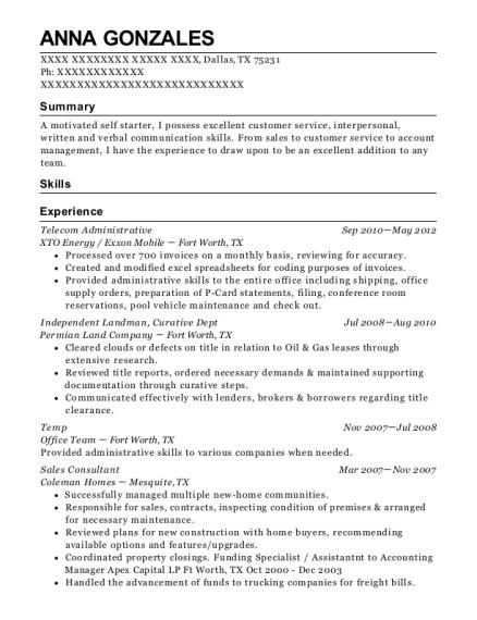 Best Independent Landman Resumes | ResumeHelp