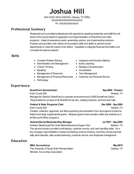 Best Sharepoint Administrator Resumes ResumeHelp