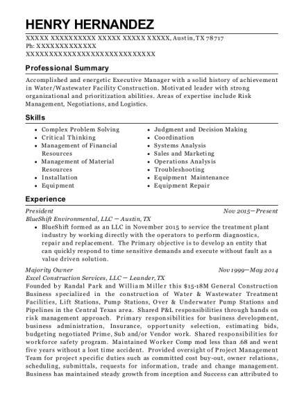 Best Senior Resident Engineer Resumes | ResumeHelp