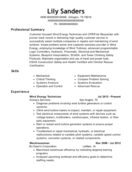 Fancy Resume Wind Energy Composition - Best Resume Examples by ...