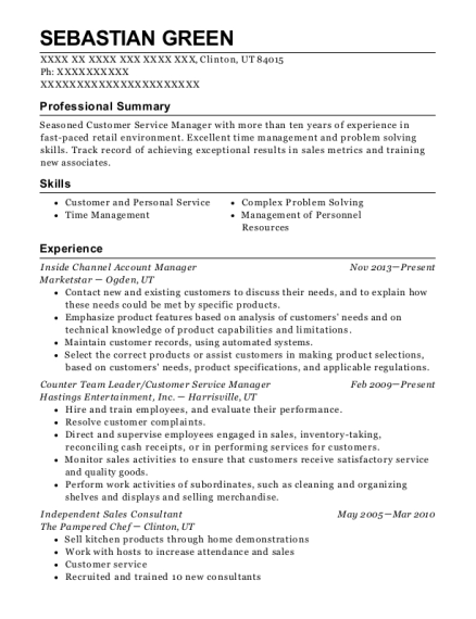 best independent sales consultant resumes resumehelp
