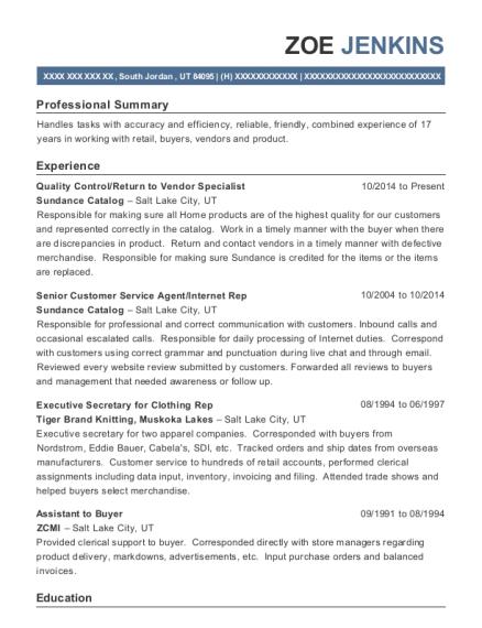 livingsocial senior customer service agent resume sample tucson