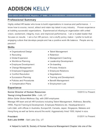recruiting resumes