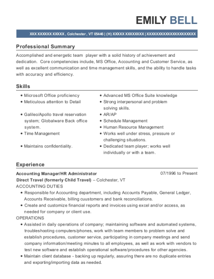 Best Hr Administrator Resumes | ResumeHelp
