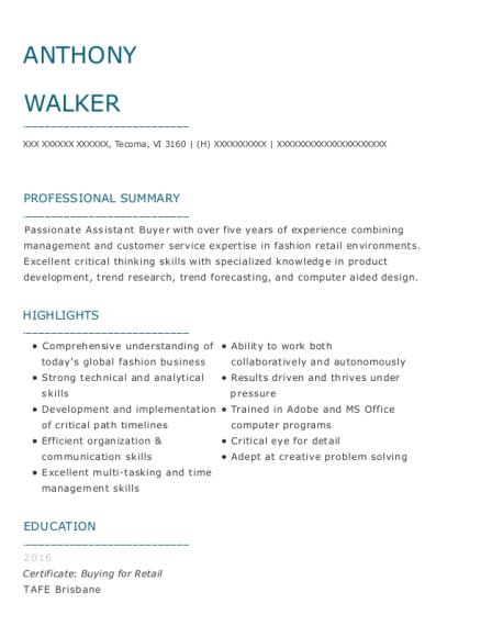 Best Style Specialist Resumes   ResumeHelp
