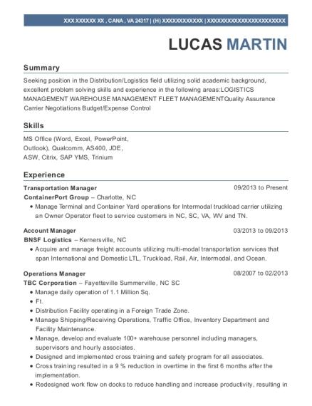 best regional operations manager resumes resumehelp