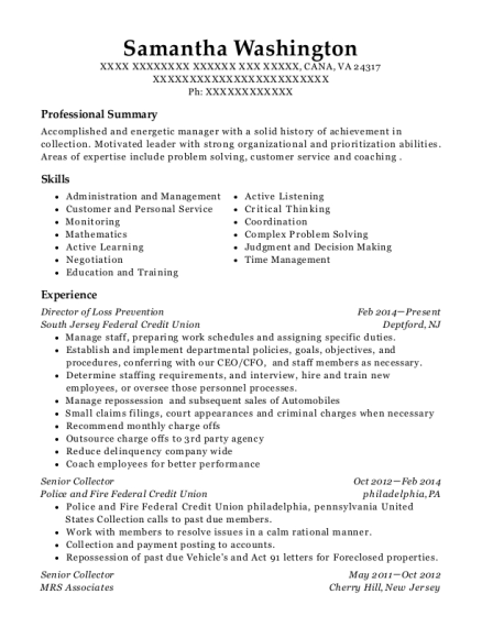 View Resume. Director Of Loss Prevention  Loss Prevention Resume