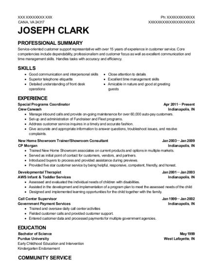 Best Special Programs Coordinator Resumes   ResumeHelp