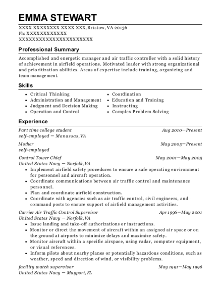 United States Air Force Rotc College Student Resume Sample