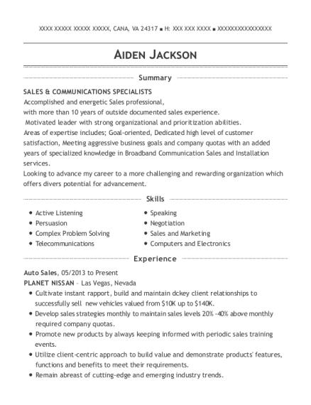 ... Door To Door Sales. Customize Resume · View Resume