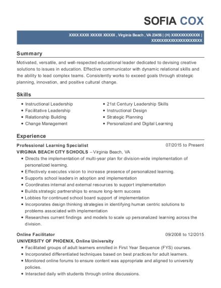 best summer school administrator resumes resumehelp