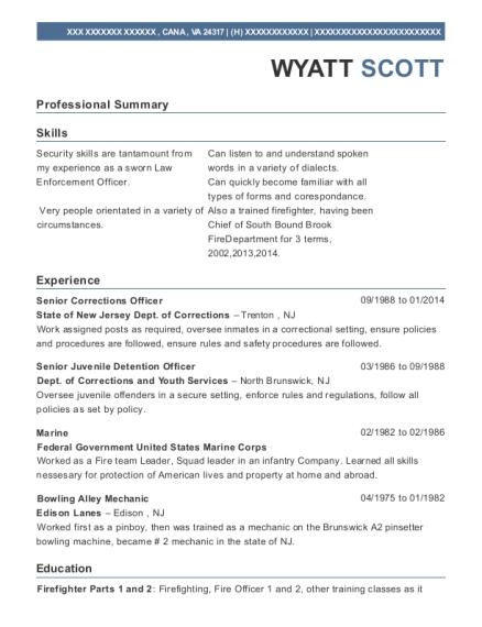 ... Senior Juvenile Detention Officer. Customize Resume · View Resume