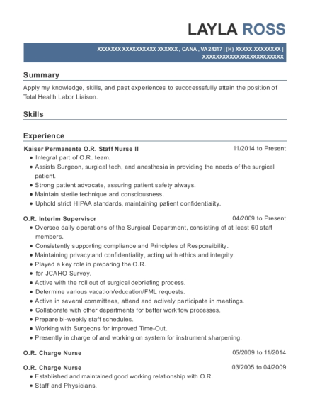 Best Or Surgical Assistant Resumes