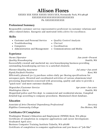 Best Dispatcher/customer Service Resumes | ResumeHelp