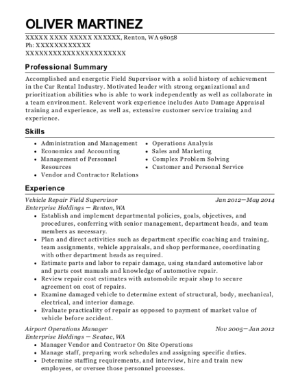 Best Airport Operations Manager Resumes | ResumeHelp