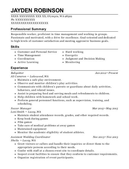 Best Assistant Wedding Coordinator Resumes Resumehelp