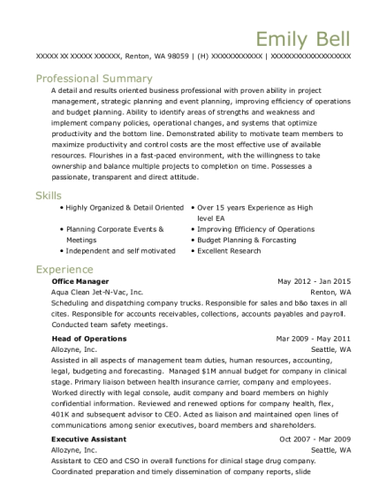 Outstanding Aberdeen Asset Management Resume Ideas - Best Resume ...