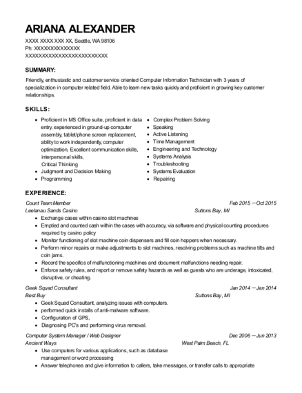 Delightful View Resume