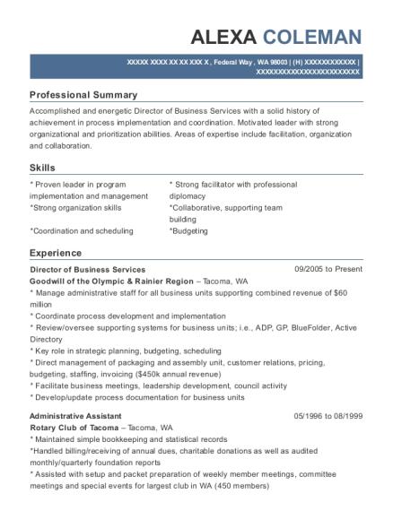 benefits coordinator resume