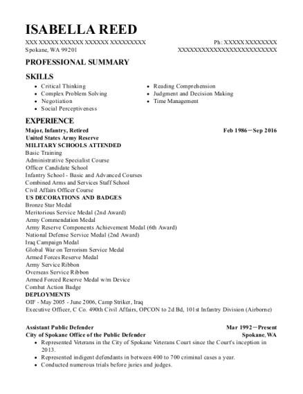 Best Assistant Public Defender Resumes | ResumeHelp