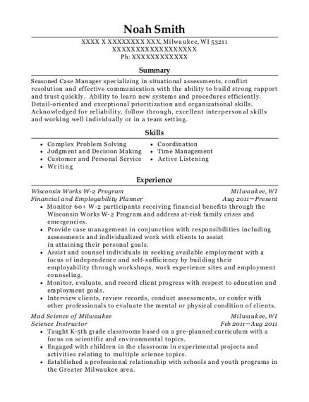Best Youth Program Coordinator Resumes Resumehelp