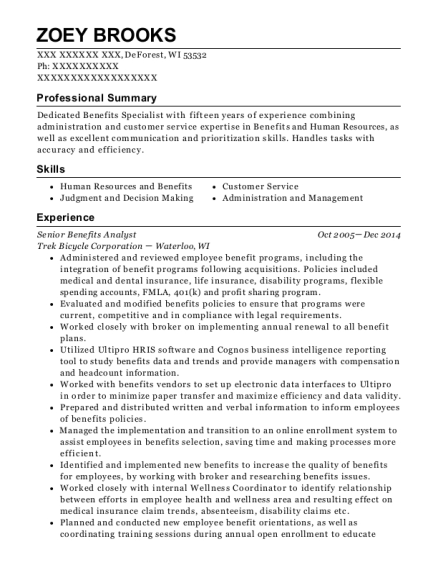 Atmos Energy Corporation Customer Support Associate Resume Sample ...